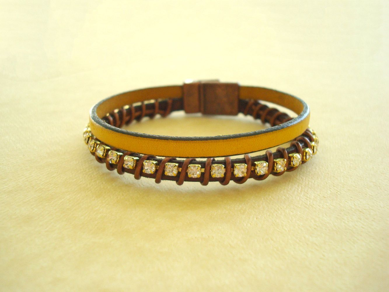 Women39s Leather Bracelet Free Shipping Genuine Leather