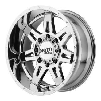 Moto Metal Mo975 18x9 Wheel With 8 On 6 5 Bolt Pattern Chrome