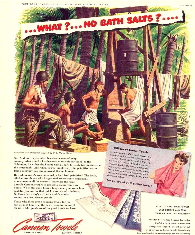 vintage canon towel ad gay | vintage_ads