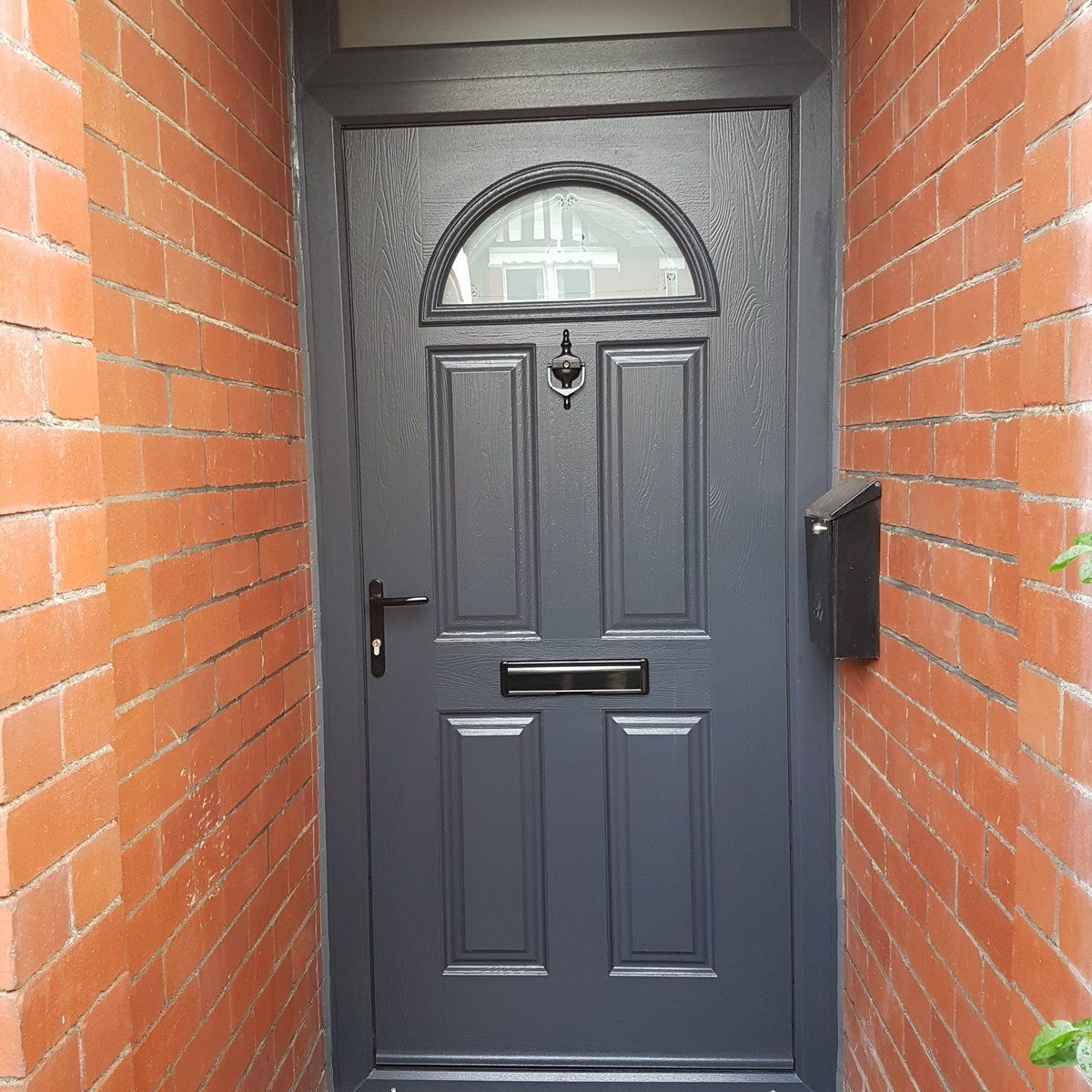 Our classic Eiger composite door in Anthracite Grey never fails to impress. Design your dream Endurance door here; //design.endurancedoors.co.uk/ & Our classic Eiger composite door in Anthracite Grey never fails to ...