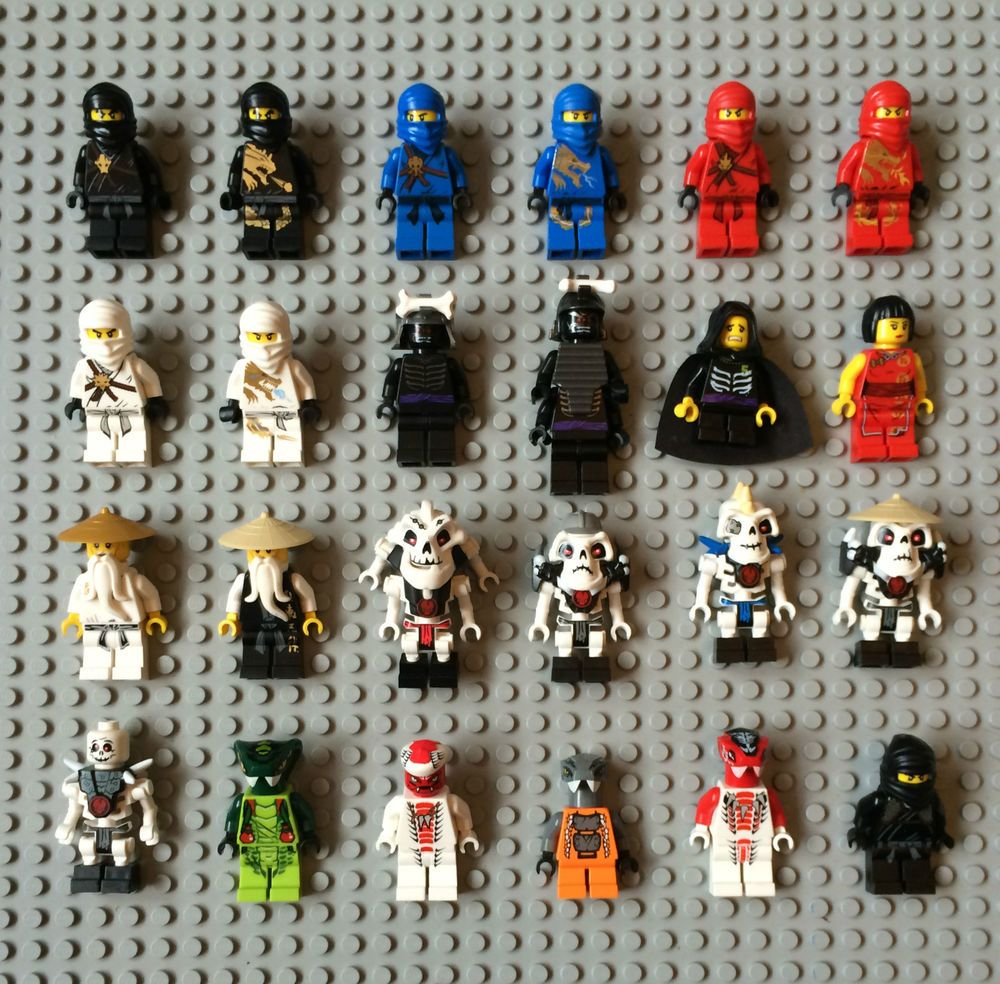 Lego ninjago mini figures to choose from cole jay kai - Lego ninjago logo ...