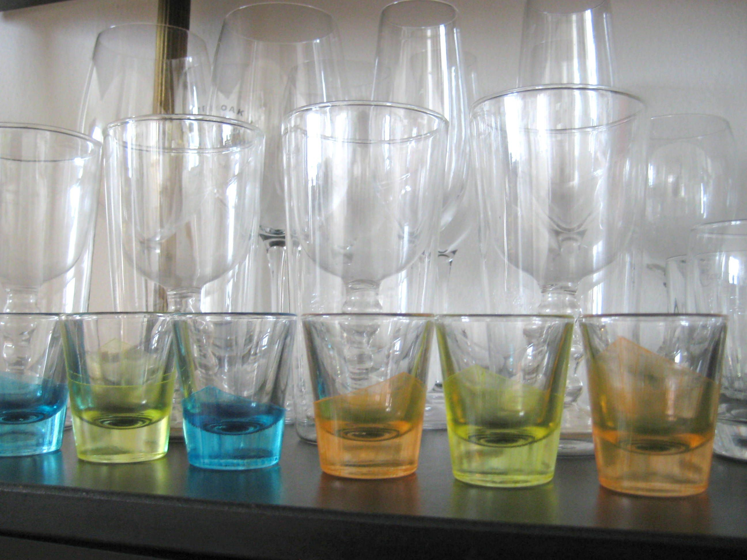 How to paint glass shot glass