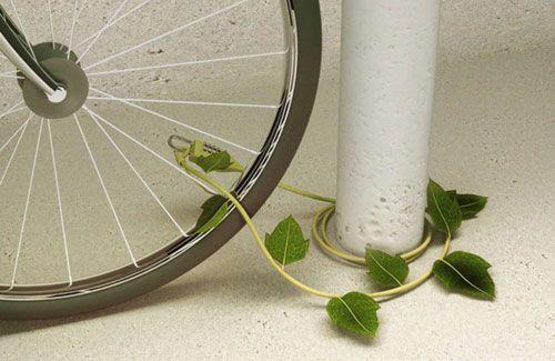 Ivy Bike Lock Concept by Sono Mocci