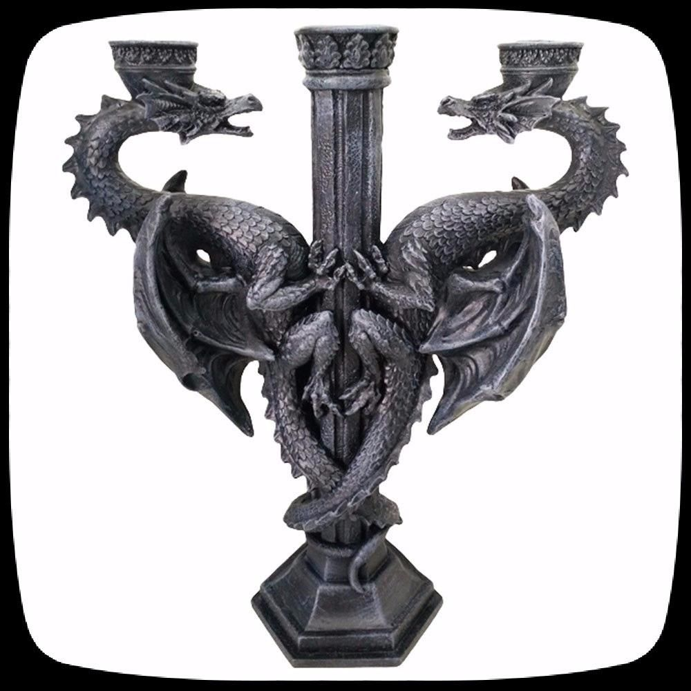 Dragon Candle Holder | DARKOTHICA PRODUCTS | Pinterest ...