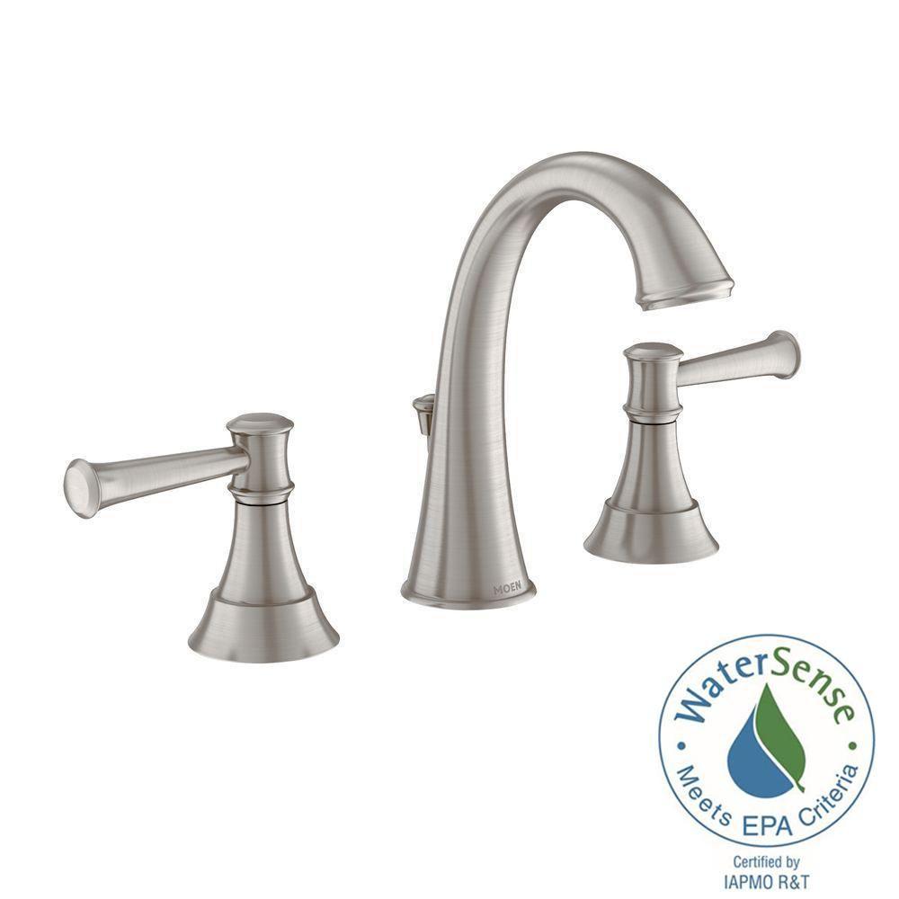 Widespread Bath Faucet BRUSHED NICKEL
