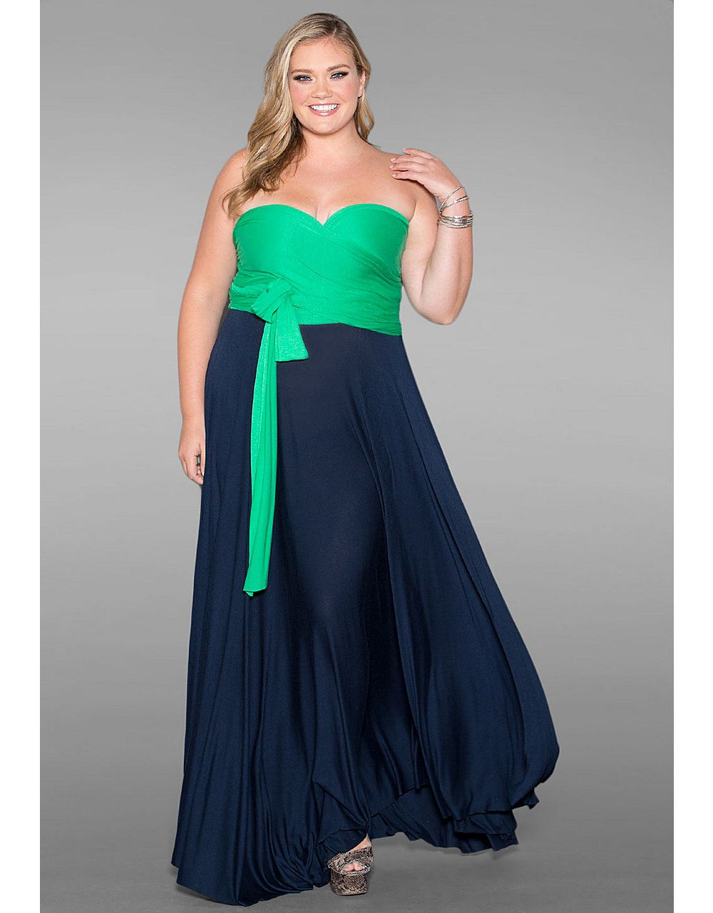 Eternity convertible maxi dress chic duo sonsi the colors