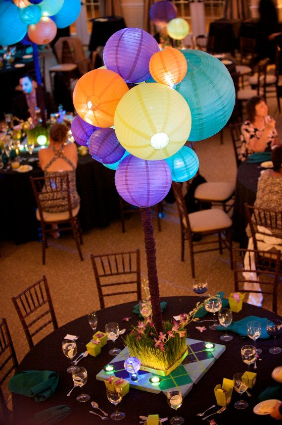 Artisitc Paper lantern Centerpieces by jerrypisani on
