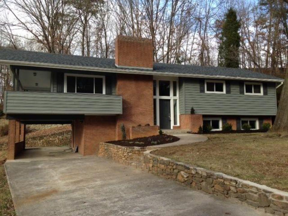 1960s Suburban Delight Open Floor House Plans Backyard Patio Wrap Around Porch