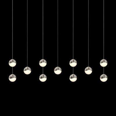 Sonneman Grapes™ 11 - Light Cluster Globe LED Pendant | Wayfair