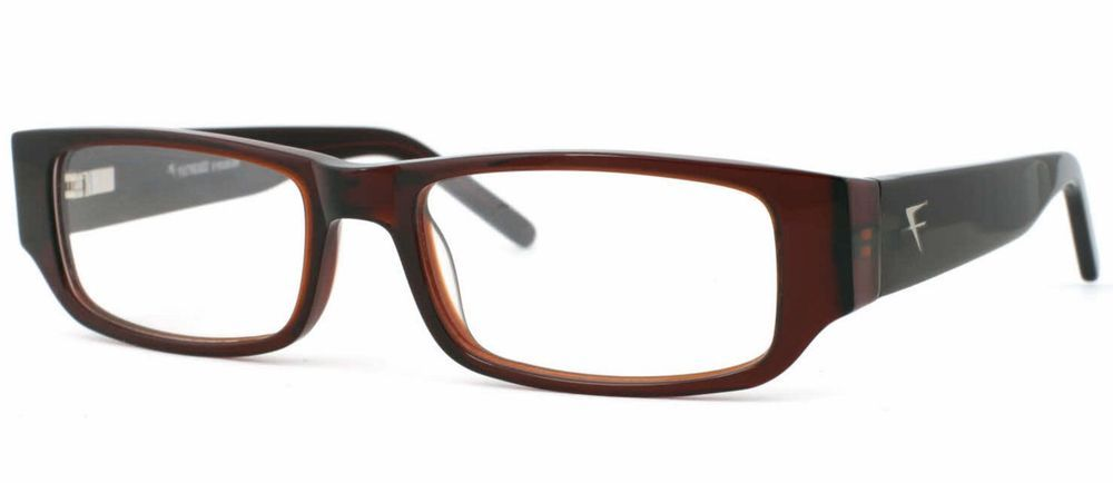 Fatheadz Aim Xl Extra Large Mens Dark Brown Eyeglasses Or