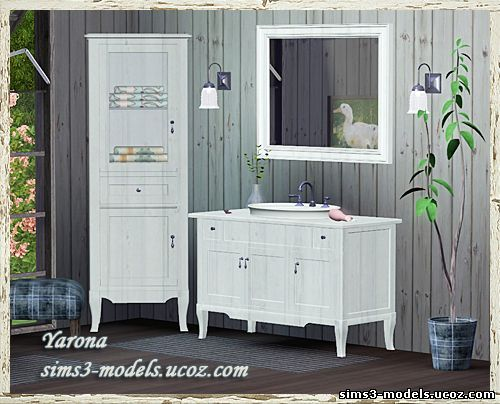 Small bathroom set by Yarona - Sims 3 Downloads CC Caboodle | Sims 3 ...