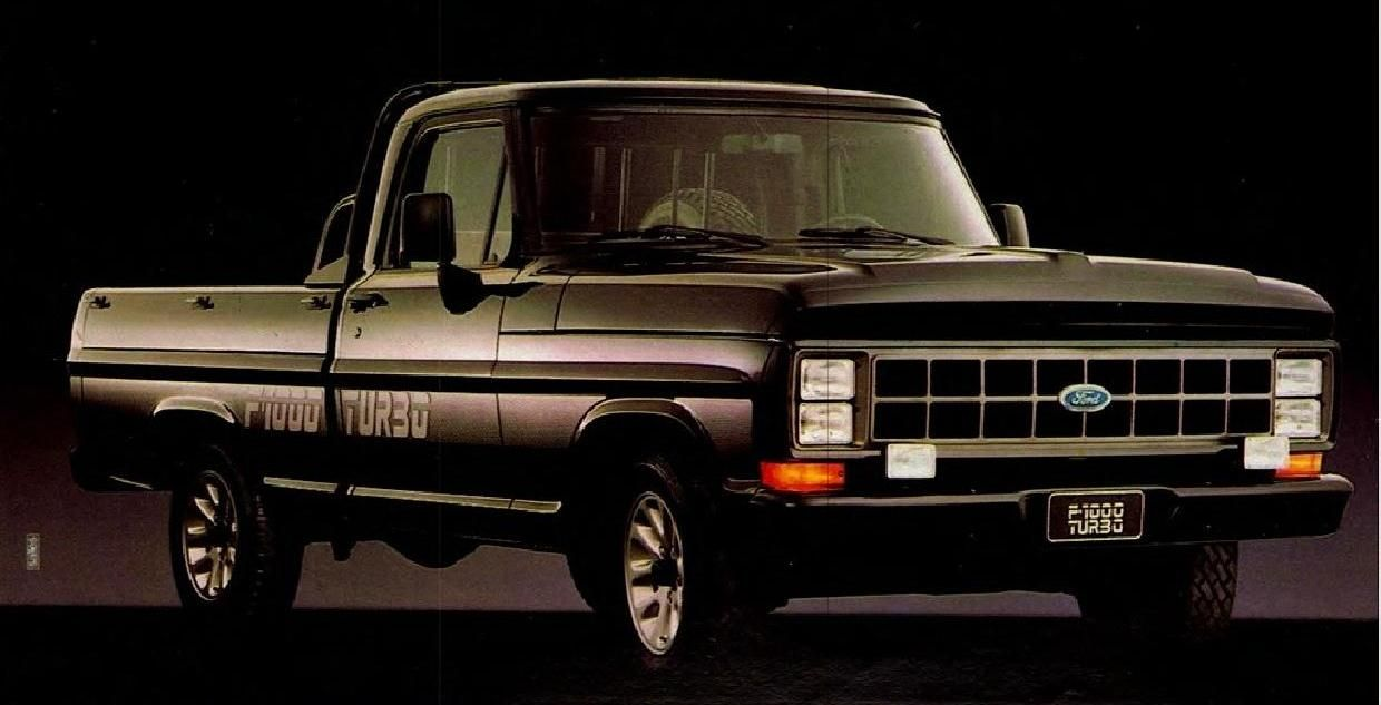 1991 Ford F 1000 Turbo Diesel Brazil Ford Trucks Ford Pickup