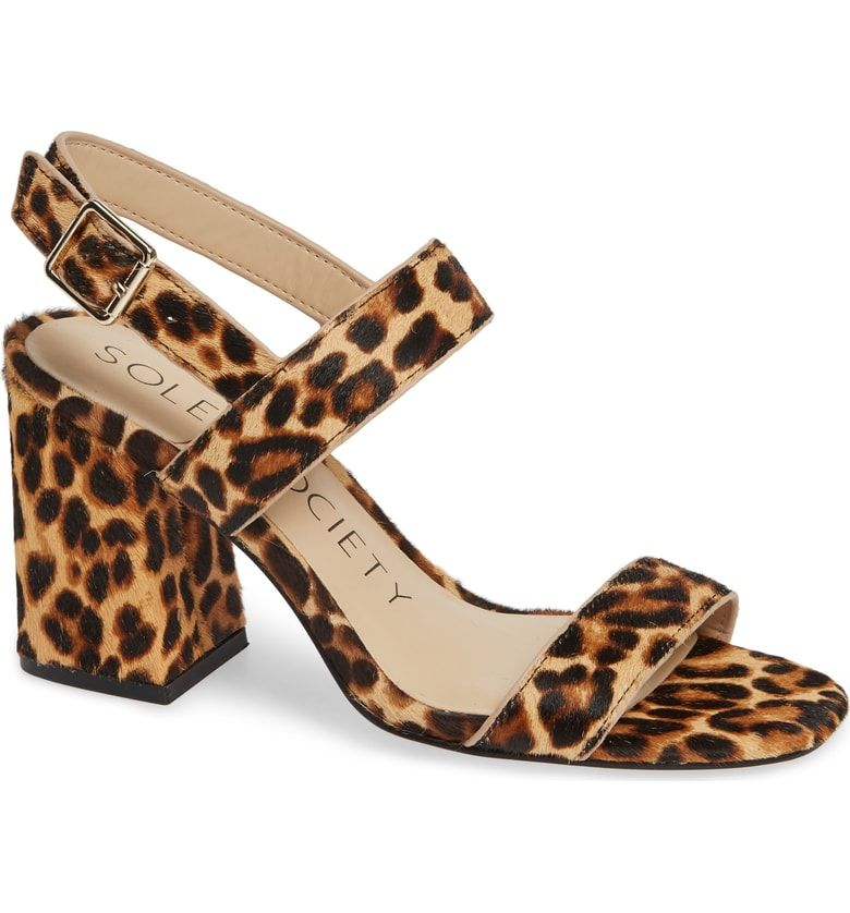8e6e4464b5f8b Free shipping and returns on Sole Society Jessibel II Genuine Calf Hair  Sandal (Women)