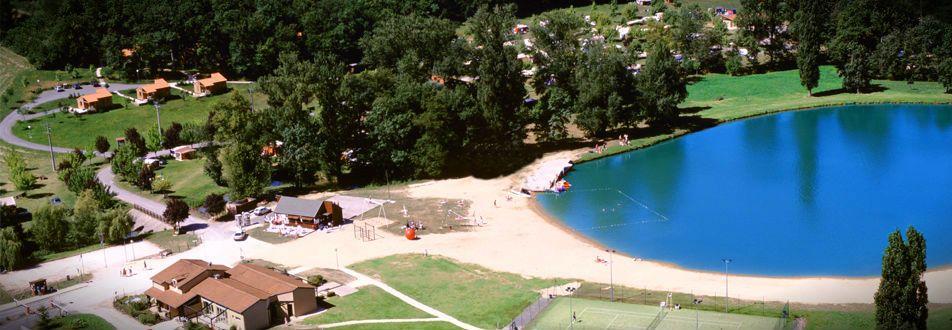 camping Pomport Beach Monbazillac, Dordogne, Bergerac, swimming lake