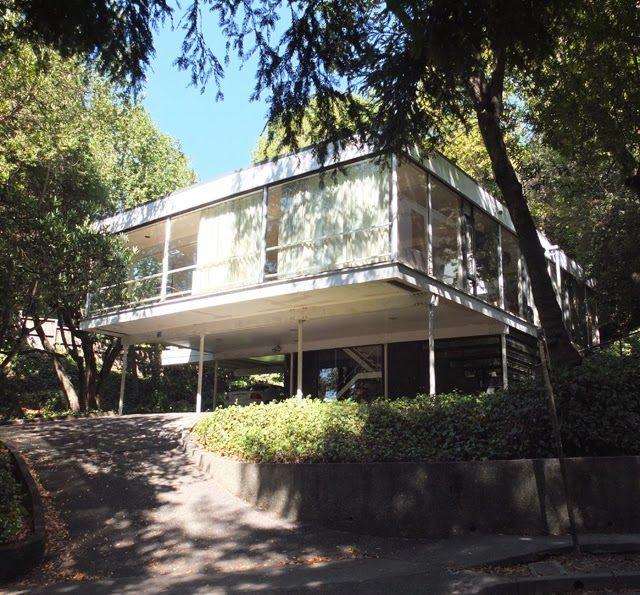 Mid Century Modern Residence: Olsen Residence. Berkeley, California. 1954. Donald Olsen