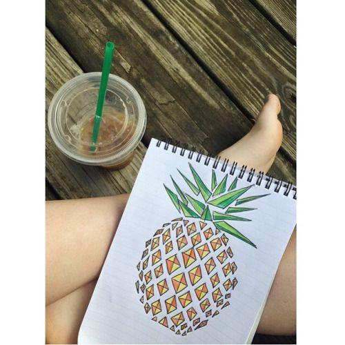 DessinerContreL'Ennui : Un Ananas :)