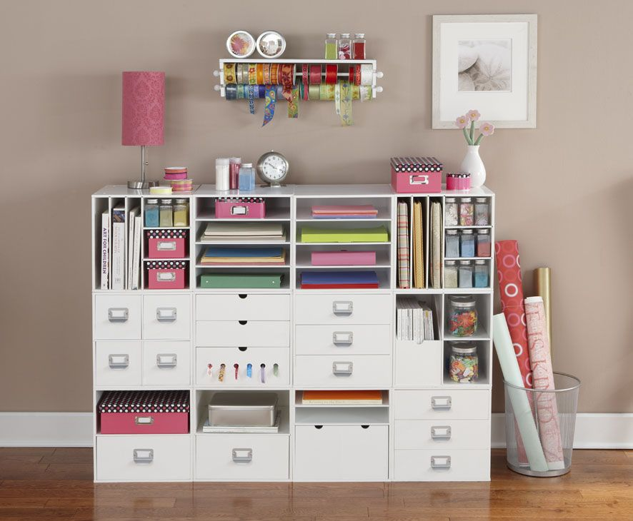 Scraproom: New Cube Arrangement... An Organizer I Would Love To Have! |  Favourite... Workspace | Pinterest | Craft Storage, Craft And Organizations