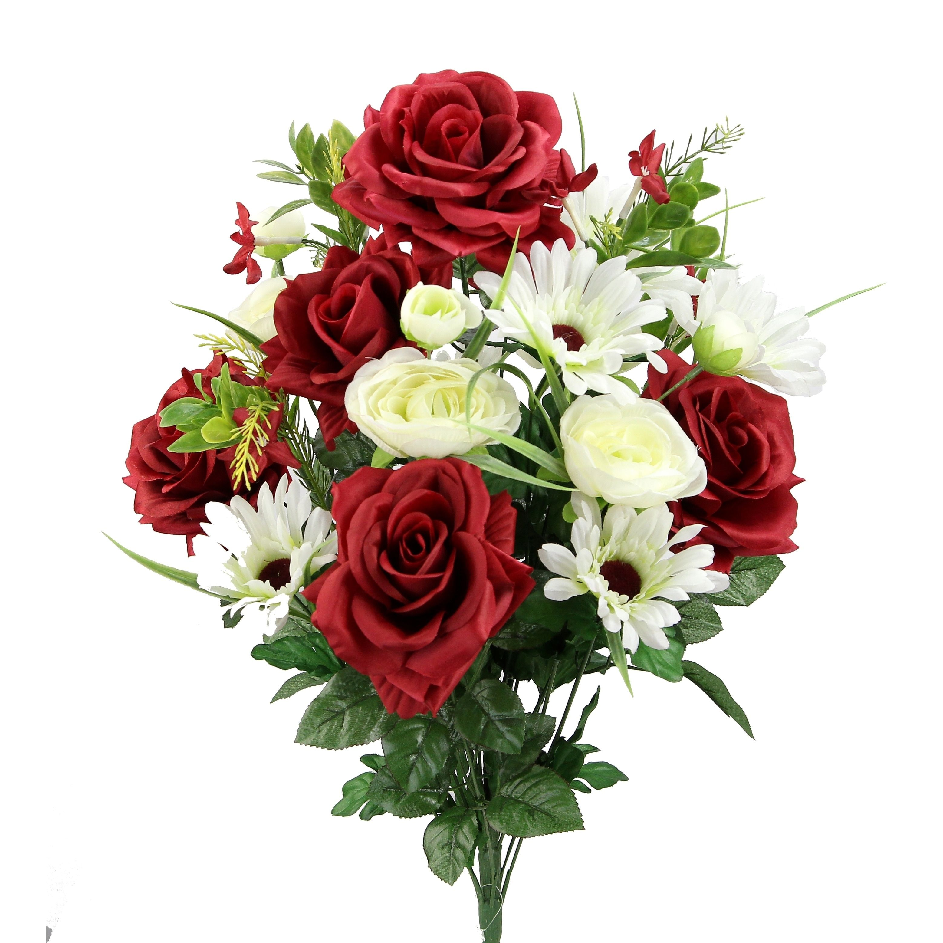 Overstock Com Online Shopping Bedding Furniture Electronics Jewelry Clothing More In 2020 Floral Arrangements Artificial Roses Floral