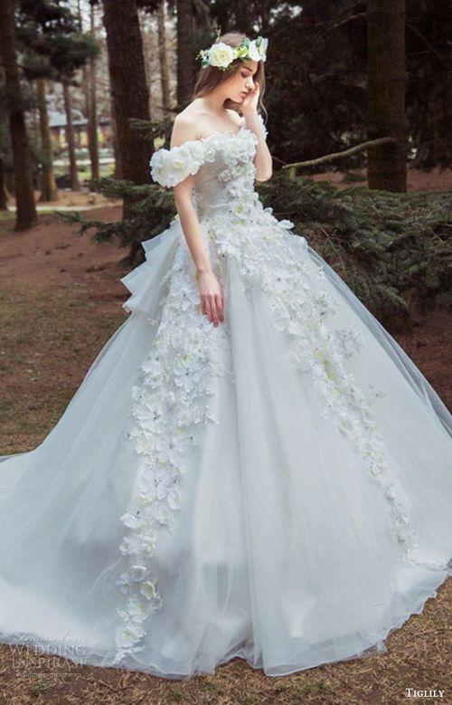 vay-cuoi-long-lay-bien-co-dau-thanh-cong-chua-4 | Fairytale Dresses ...