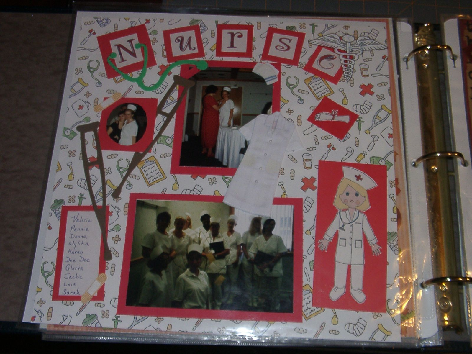 Graduation scrapbook ideas pinterest - Becoming A Nurse Scrapbook Com
