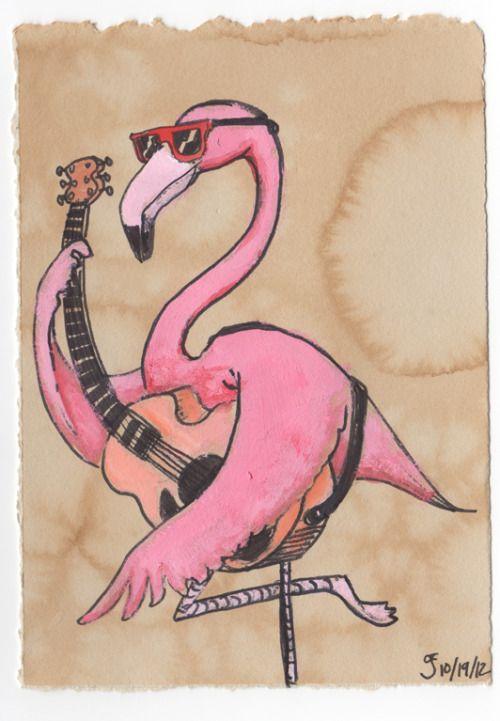 играми картинка смешной фламинго впервые показал