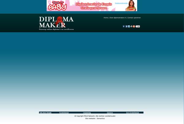 DiplomaMaker    http://www.diplomamaker.nl/ via @url2pin