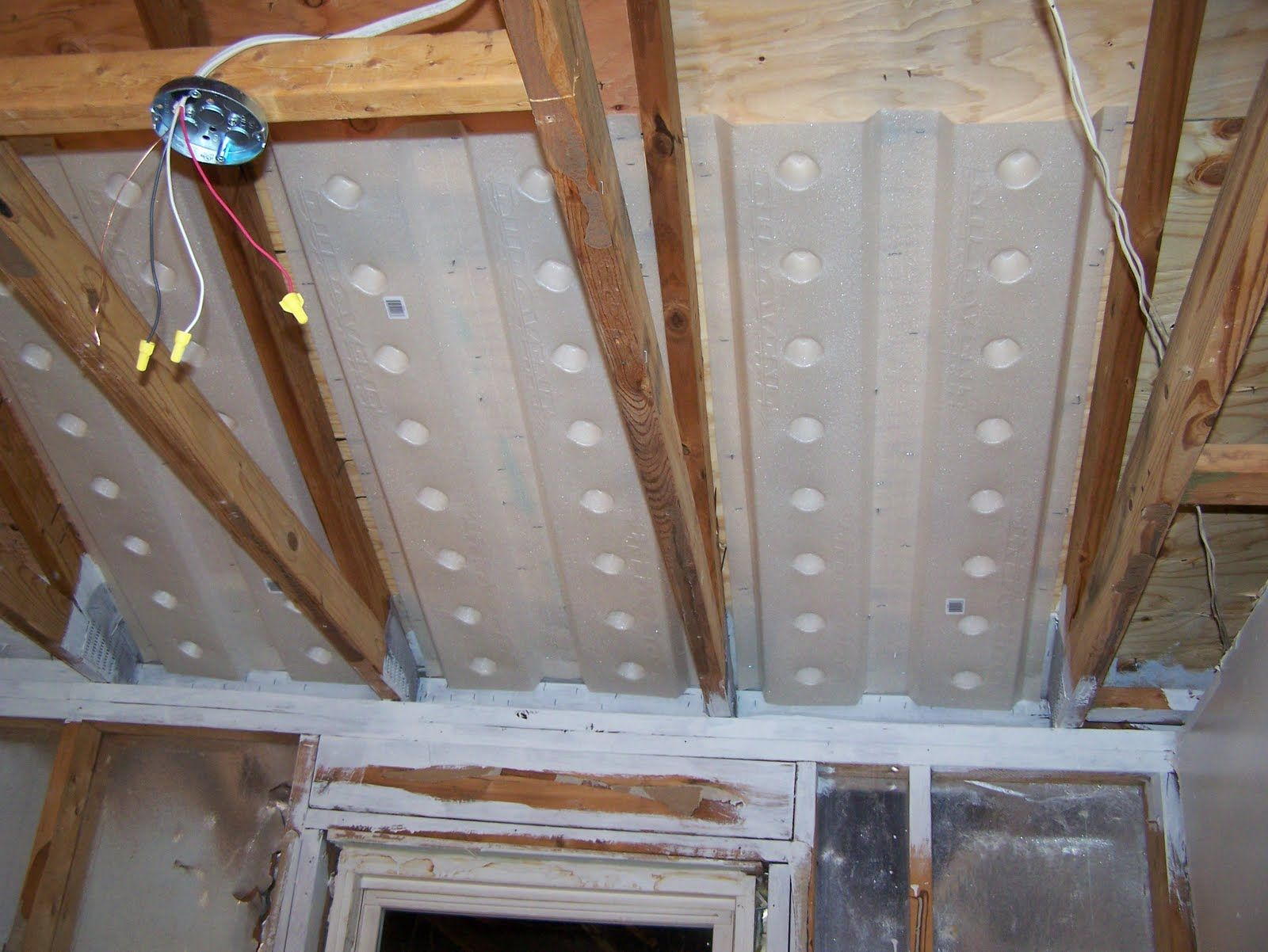 Insulate Vaulted Ceiling The Garage Journal Board Garage Insulation Garage Design Garage Workshop