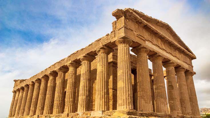 Agrigento - Das Tal der Tempel - hier findet man die schönsten griechischen Tempel der Welt. Eine Führung durch diesen Hotspot des antiken Griechenlands bekommt ihr hier: http://www.trip-tipp.com/sizilien/ausfluege-antike/tal-der-tempel.htm #sizilien #sicily #sicilia #agrigento #taldertempel