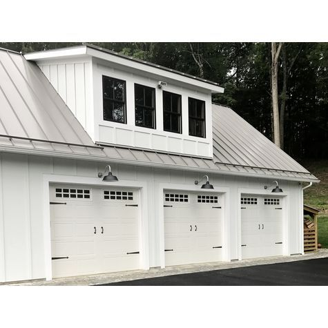 Bomber Gooseneck Light   Garage door styles, Modern ...