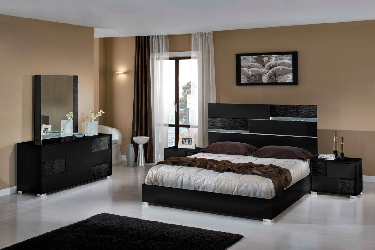 Italian Modern Bedroom Furniture Sets - Interior Design Bedroom ...