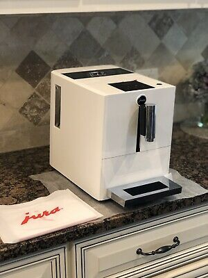 Jura A1 Ultra Compact Coffee Center with P.E.P. (White) #juracoffeemachine