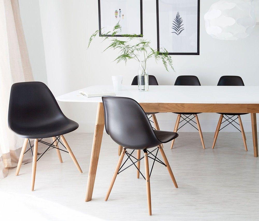 Cadeira Eames DSW Cadeira de jantar eames, Cadeiras de