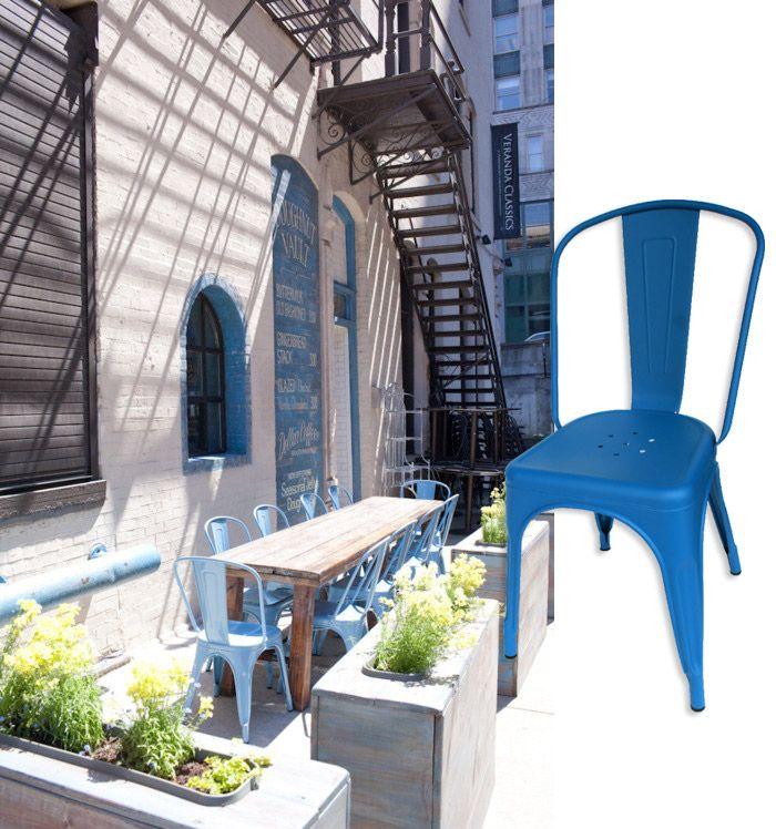 Sillas De Terraza Para Bares Y Restaurantes Diseño De