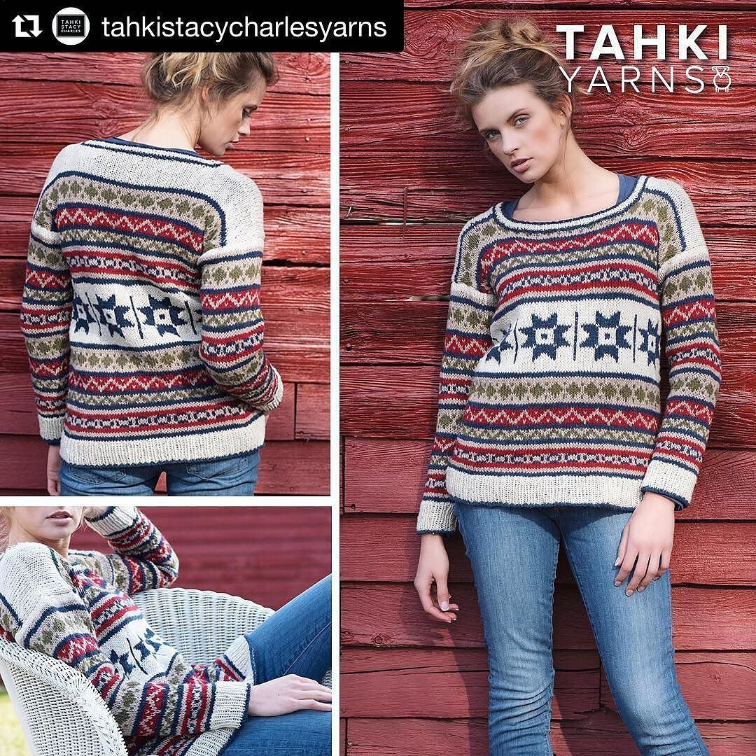 Loved doing this photoshoot last March! I usually don't shoot much in hard light but loved this look in the late afternoon sun and the wonderful @stephrogers0107 modeling. #galezuckerphotography #knitting #locationphotography .. .. .. .. #Repost @tahkistacycharlesyarns with @repostapp  The Country Quilt Pullover is the perfect excuse to play with color and practice your fair isle techniques. Worked in 5 colors of SCOTLAND Tahki Yarns new 100% wool tweed available in a range of hues. Ask for…