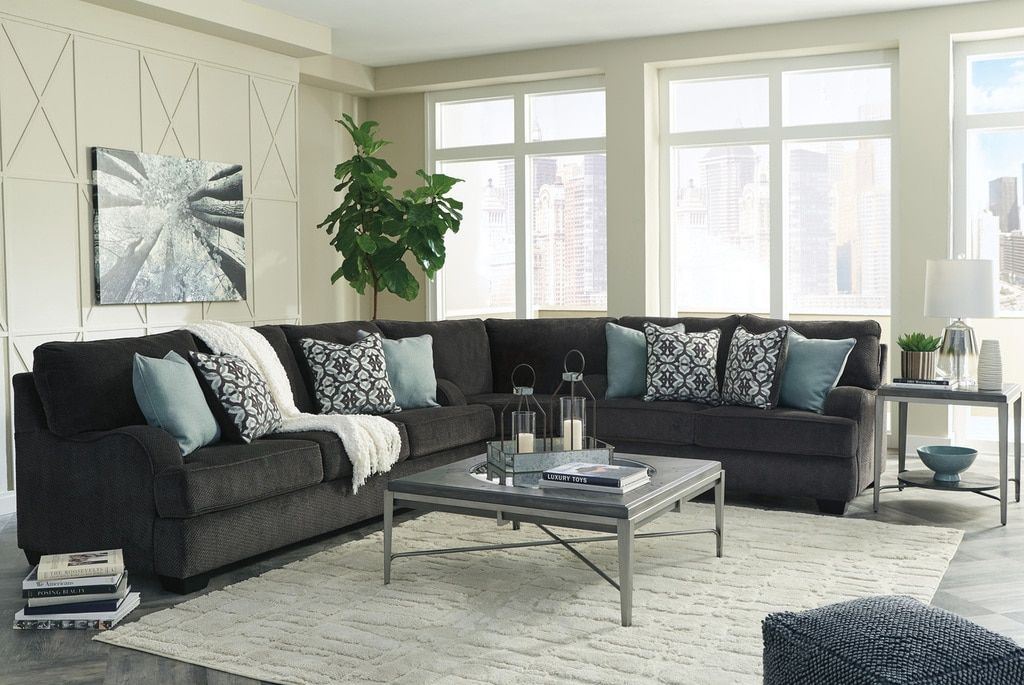 Best The Charenton Charcoal Sectional Best Living Room Design 400 x 300