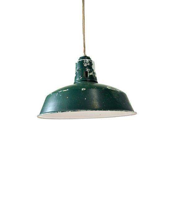 Vintage green tin lamp shade green barn lamp tin shade 14 gas vintage green tin lamp shade green barn lamp tin by bananasdesign 7995 mozeypictures Images