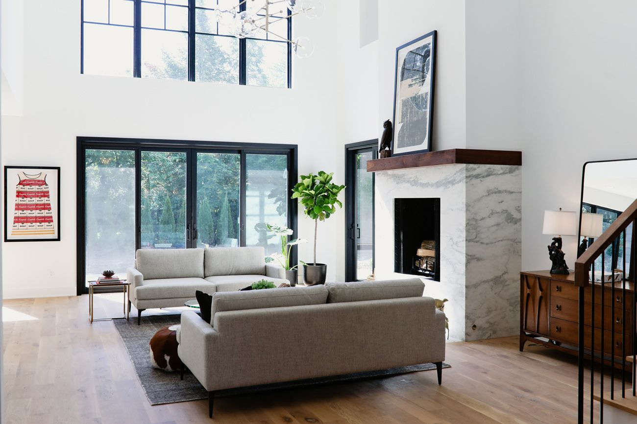 Edgework at Home MidCentury Meets Modern in This UA