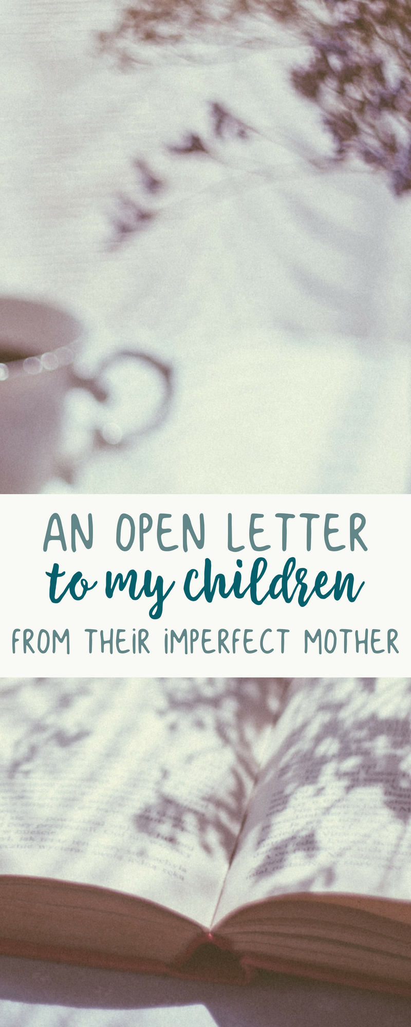 An Apology to My Children | Best of Kori at Home | Letters for