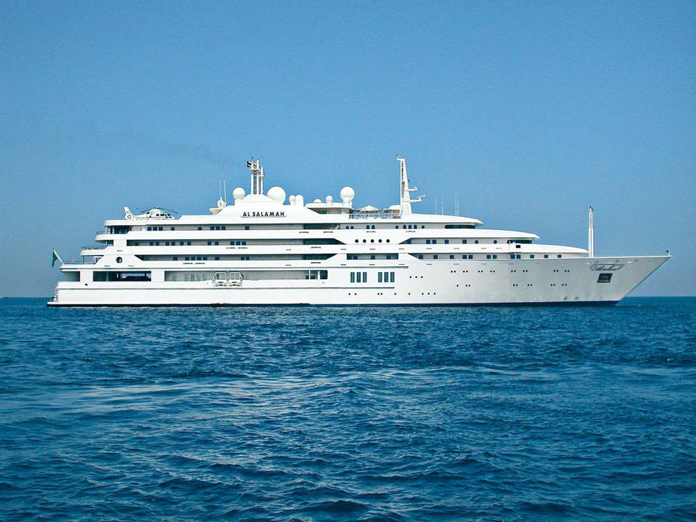 al salamah yacht | Luxury Catamaran Yacht: Top 10 Largest Yachts in the World