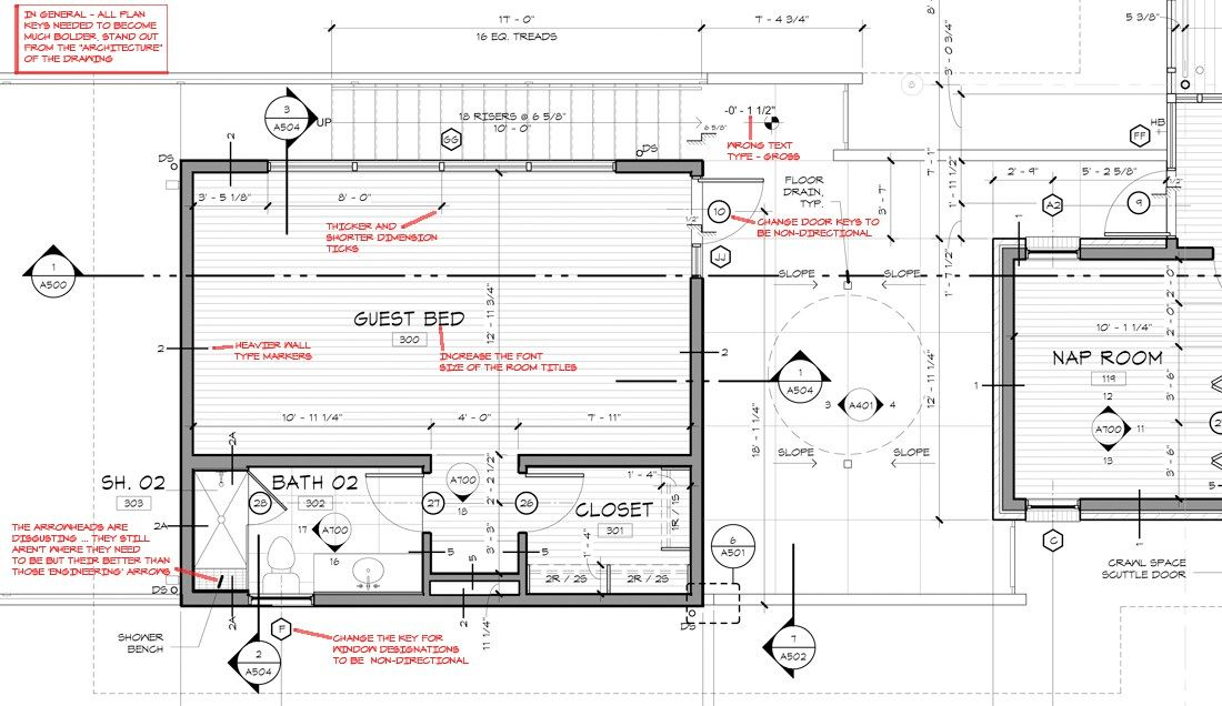 Khouse Modern Graphic Standards Floor Plan Leftovers Extras