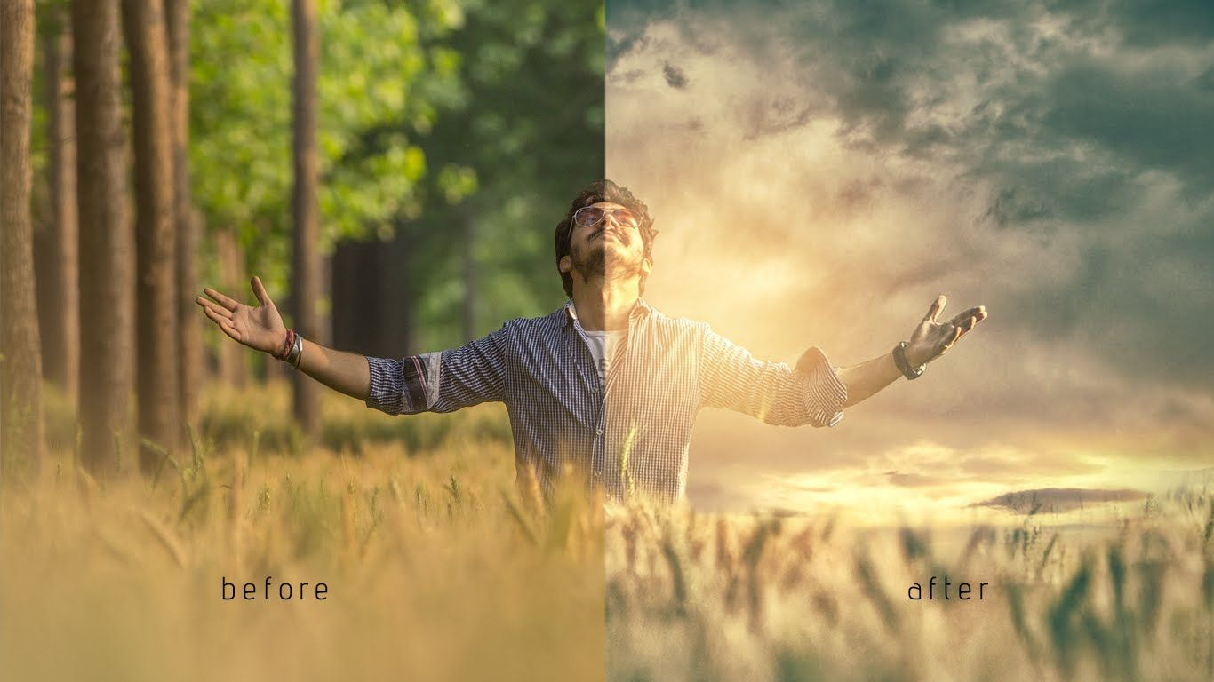 Photoshop How To Change Background & Photo Manipulation ( Parv Kalia ) Photoshop  How To Change Editing Video In Photoshop