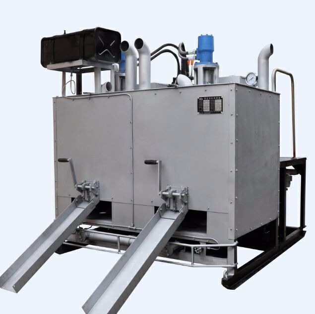 Hydraulic Double Drum Melting Preheater For Thermoplastic