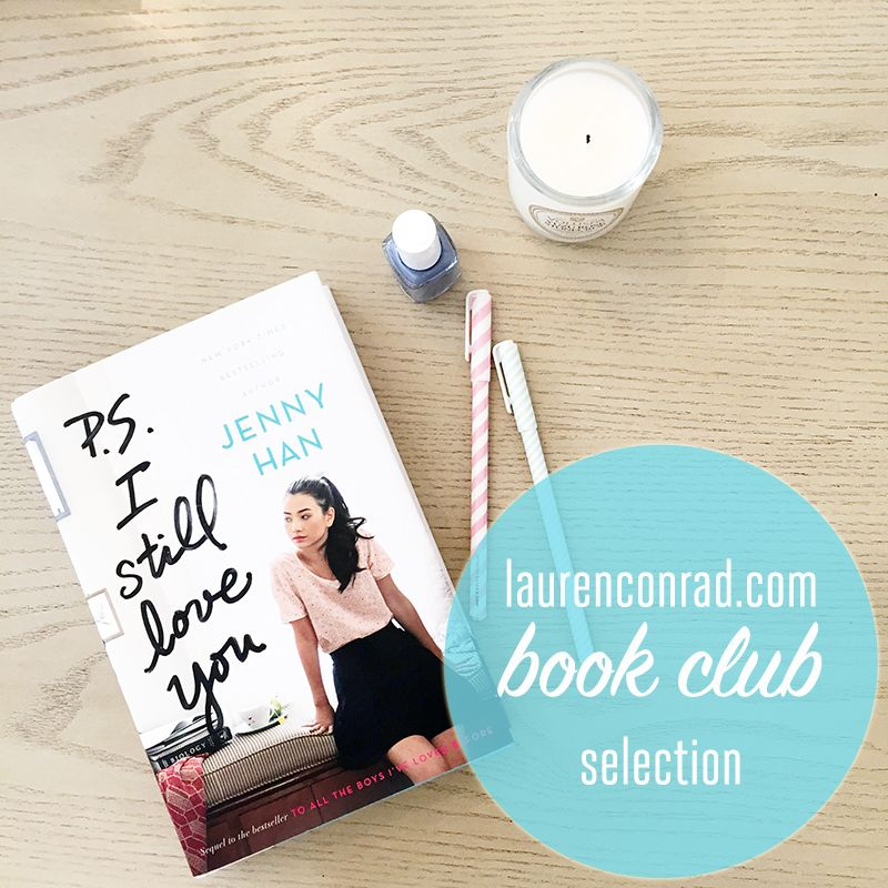 Book Club Discussion Ps I Still Love You Read Pinterest
