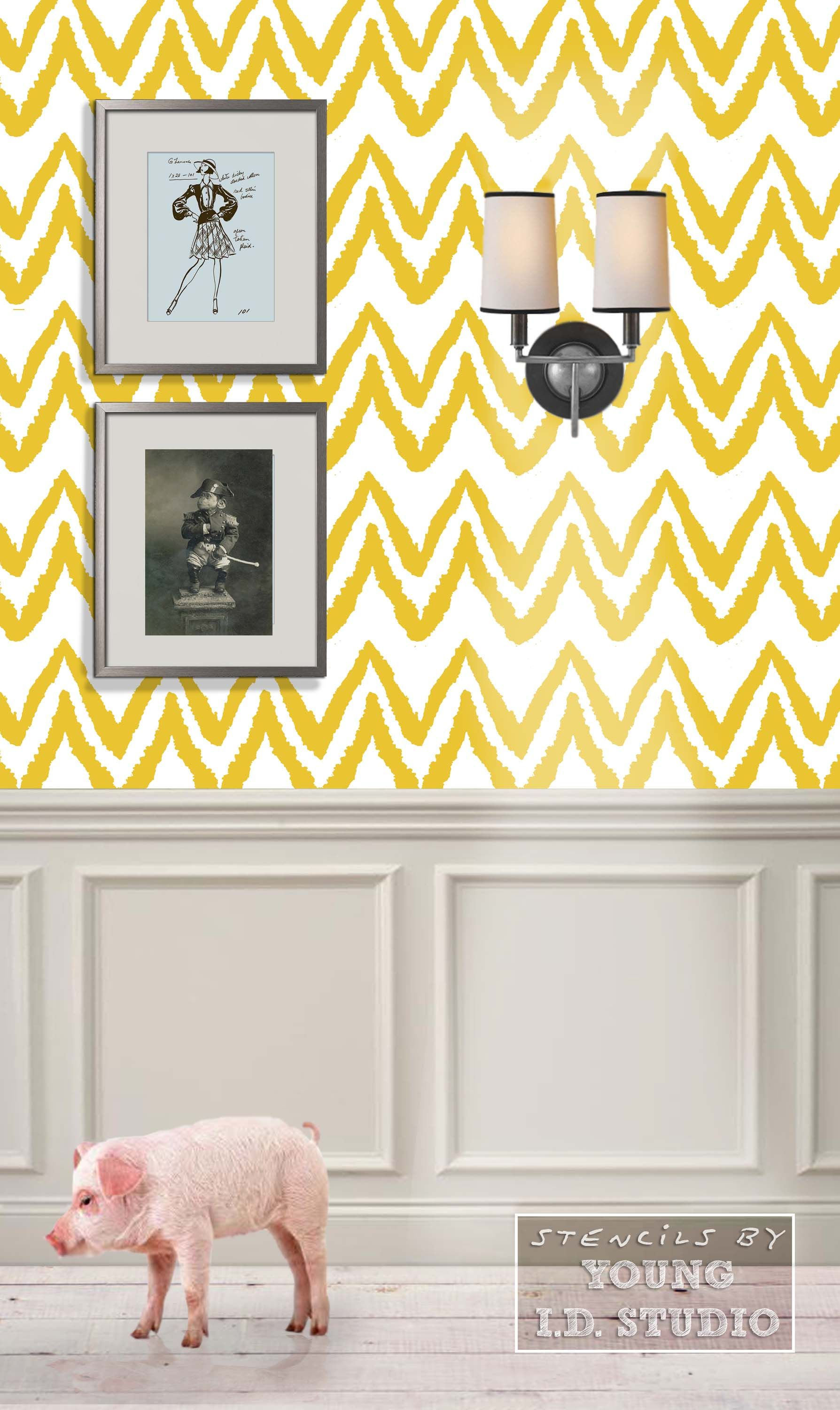 Edgy Chevron\