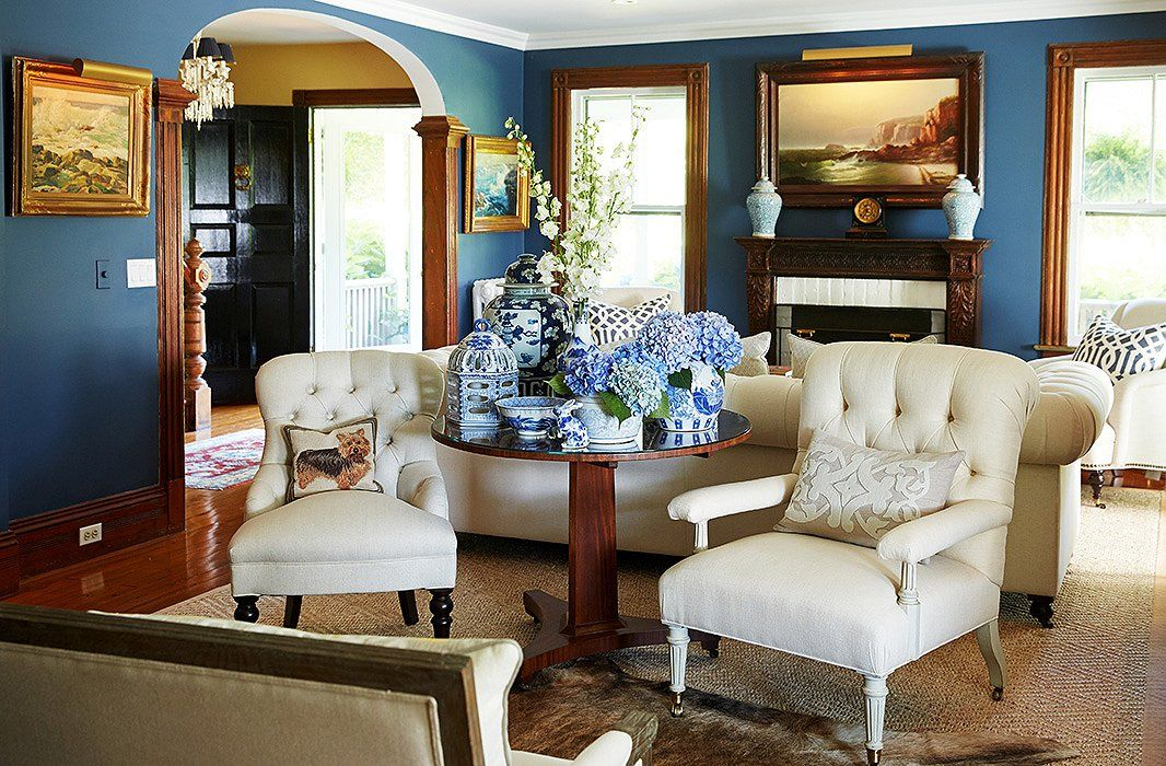 Tour a hamptons farmhouse bursting with style one kings lane our style blog
