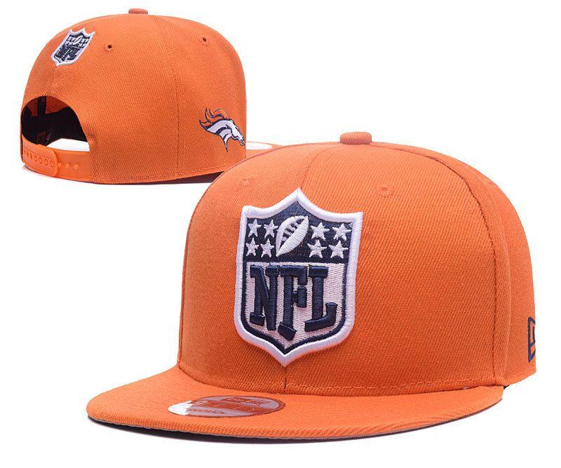 503244d5b35 Men s Denver Broncos New Era NFL Team Shield Logo Embroidery 9FIFTY Snapback  Cap - Orange
