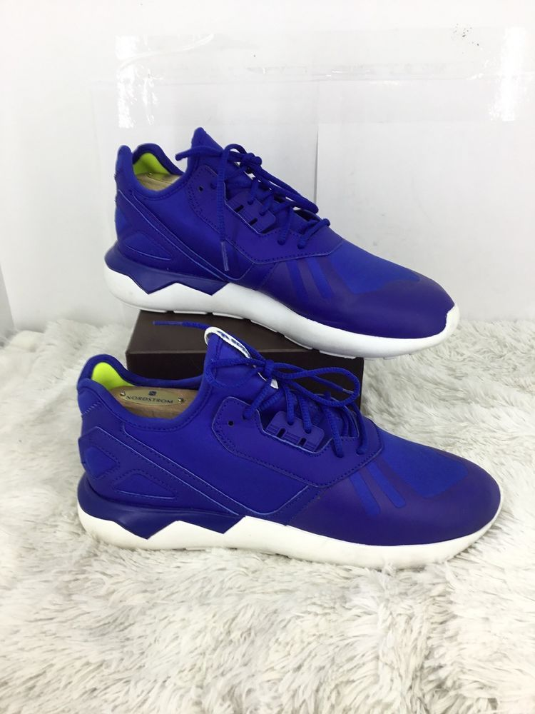 release date 40ed1 2964f ADIDAS Mens Tubular Running Sneaker In Blue Size 7  fashion  clothing  shoes