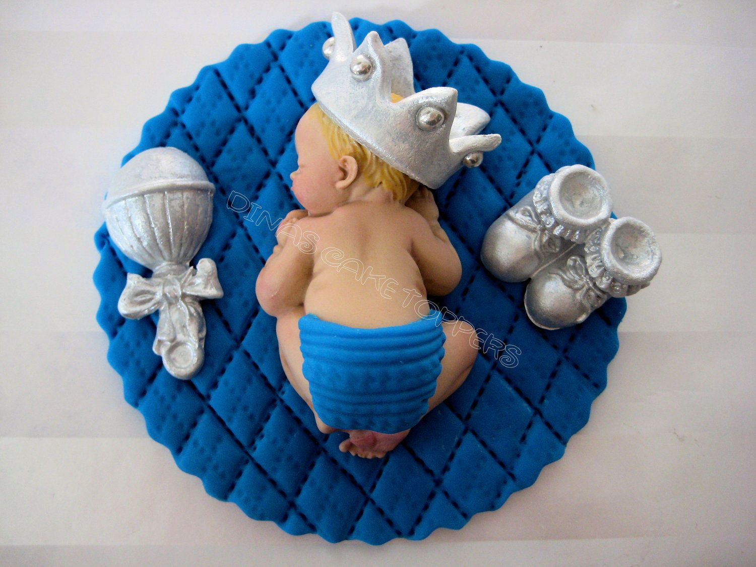 Baby boy supplies boy baby shower cakes images archives for Baby boy shower decoration kits
