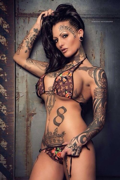 Fine sexy hot breath taking tattooed women tattoos and for Naked tattooed girl