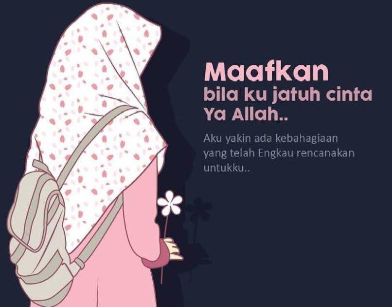 34 Gambar Kartun Berhijab Dan Kata Islami Kumpulan Gambar Kartun
